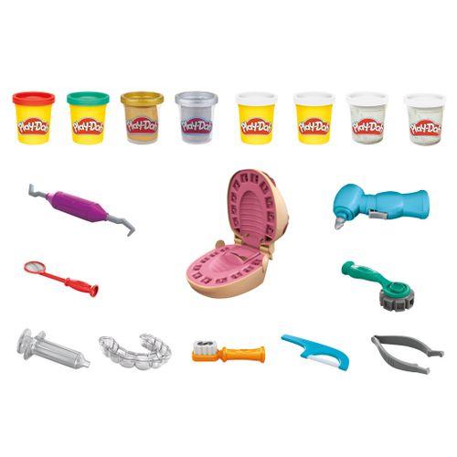 Conjunto Massa De Modelar - Play-Doh - Brincando De Dentista - Hasbro