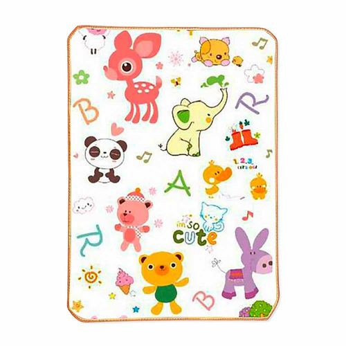 Tapete de Atividades para Bebê - Fun Friends - 120 cm x 90 cm -  Pecci e Pecci