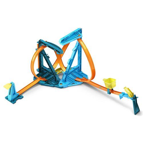 Pista de Percurso - Hot Wheels - Track Builder - Kit Loop Infinito - Mattel