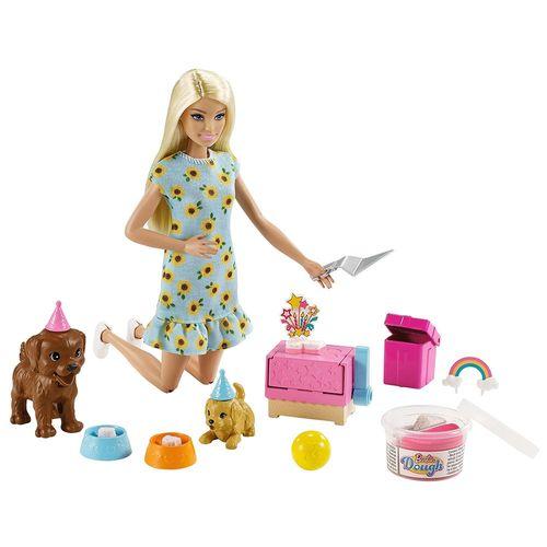 Boneca Barbie - Sisters & Pets - Aniversário Do Cachorrinho - Mattel
