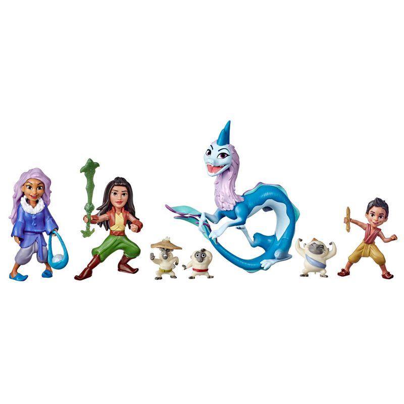 Mini-Bonecas-Disney-Raya-e-o-Ultimo-Dragao-7-Figuras---Aventuras-em-Kumandra---E9474---Hasbro-0