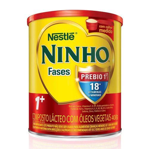 Leite em Pó Ninho Fases 1+ Nestlé 400g