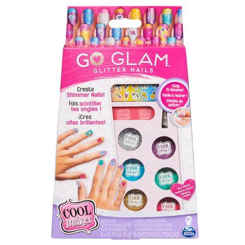 Acessórios de Maquiagem - Go Glam - Nail Glitter - Sunny