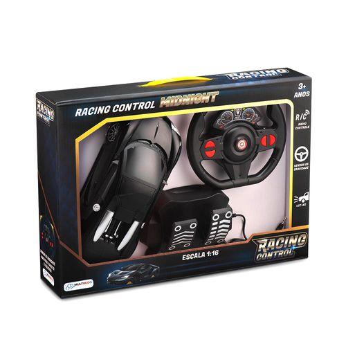 Veículo de Controle Remoto - Racing Control Midnight - Preto - Multikids