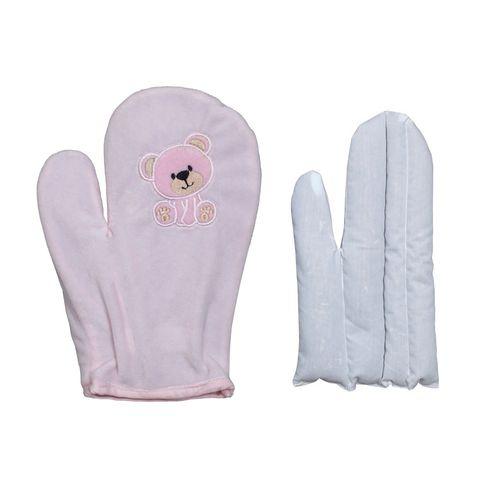 Luva Térmica Anticólica com Ervas para Bebês – Zip Toys – Menina – Plush – Rosa