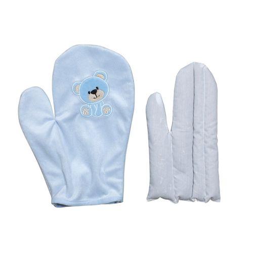 Luva Térmica Anticólica com Ervas para Bebês – Zip Toys – Menino – Plush – Azul