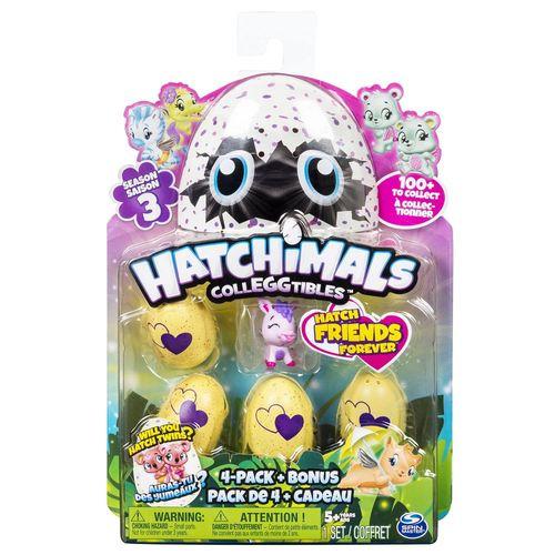 Hatchimals Série 4 - Blister Surpresa com 5 Hatchimals - Sunny