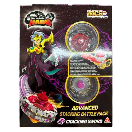 Pião De Batalha - Infinity Nado V - Advanced Edition - Cracking Sword - Candide
