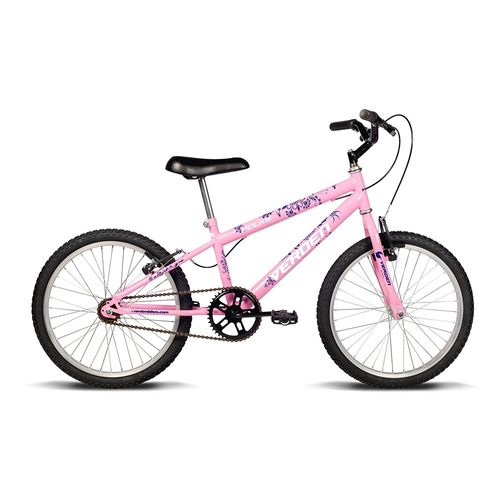 Bicicleta ARO 20 - Folks - Rosa - Verden Bikes