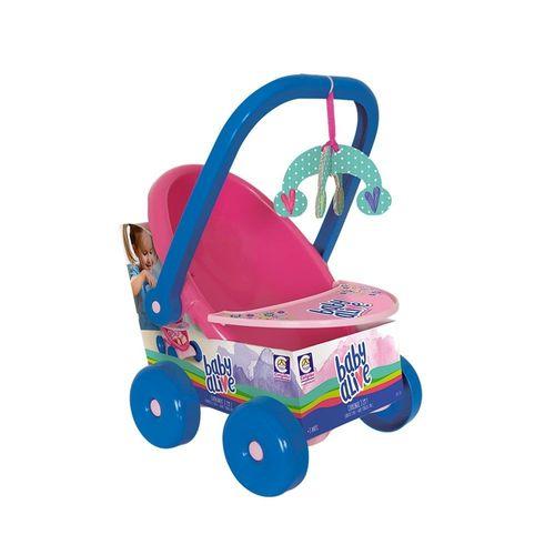 Baby Alive Carrinho De Bebê 3 em 1 - 2480 - Cotiplás