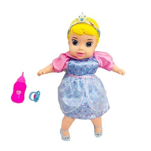Boneca Bebê 45 cm - Disney - Cinderela Bebê - Mimo