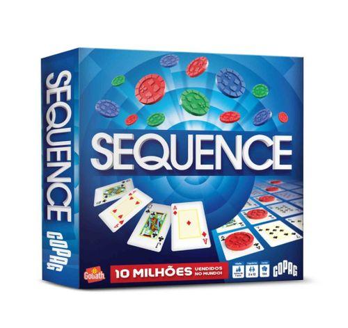 Jogo de Cartas - Sequence - 2 a 12 Jogadores - Copag
