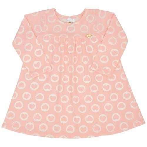Vestido - Pulla Bulla - Bebê - Cotton - Rosa - Menina - P