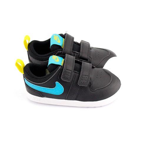Tenis Nike Pico 5 Preto + Azul Infantil