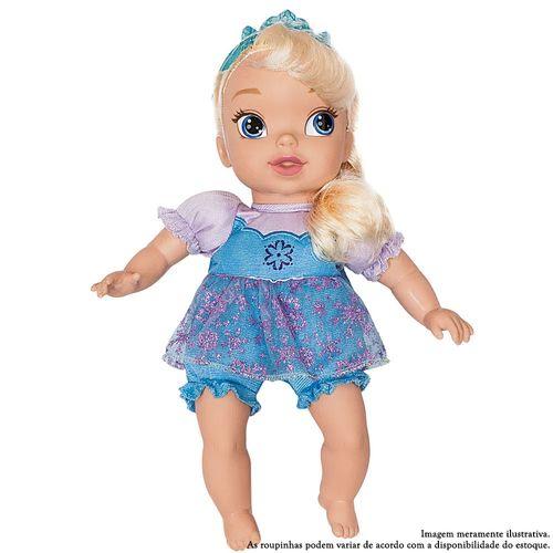 Boneca Baby - Disney Frozen - Elsa - Roupas Sortidas - Mimo