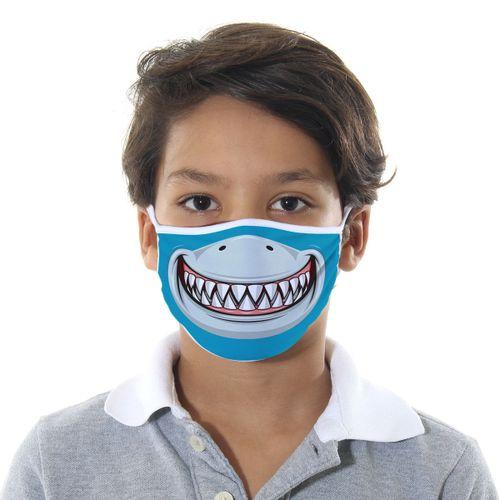 Máscara de Proteção Infantil - Tubarão - Mask4all