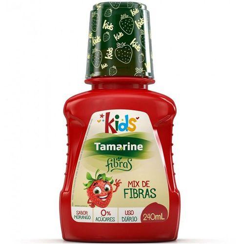 Tamarine Kids Mix de Fibras Sabor Morango 240ml