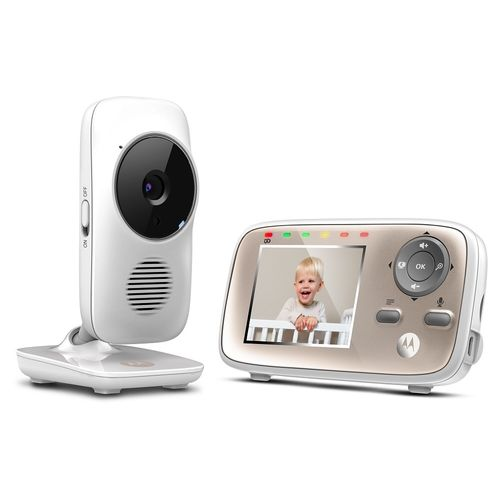 Babá Eletrônica - MBP667 Connect de 2,8 Com Wi Fi E Monitor de Tela Colorida - Motorola