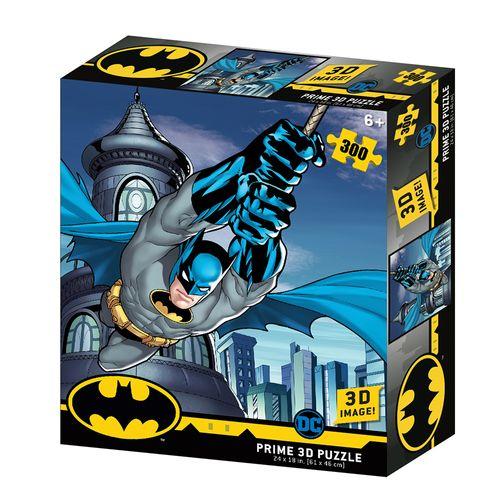 Quebra-Cabeça 3D - 300 Peças - Batman Dc Comics - Multikids