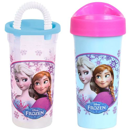 Kit de Copos - 440Ml e 340Ml - Disney - Frozen - BabyGo