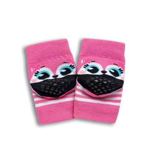 Meia Joelheira para Bebês Gatilha – Puket – Menina – Algodão – Pink