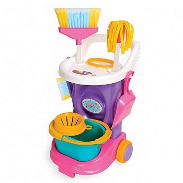 Carrinho de limpeza Rosa - 1080 - Maral