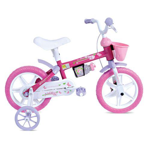 Bicicleta Aro 12 Tina Mini Rosa - Houston