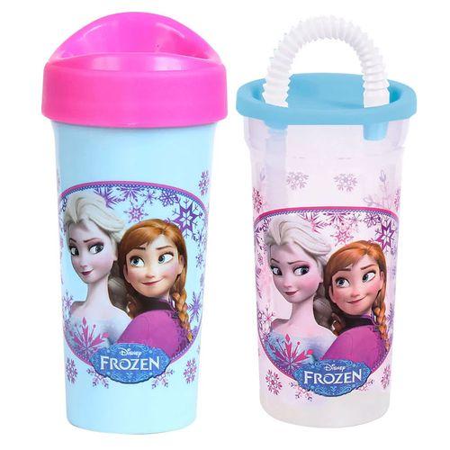 Kit de Copos - 340Ml e 440Ml - Disney - Frozen - BabyGo