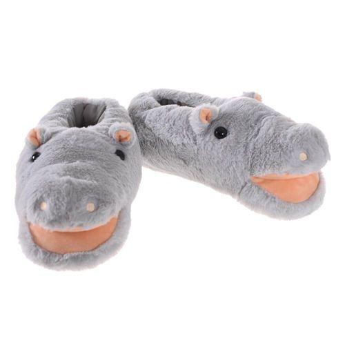 Pantufa Hipopótamo Feliz