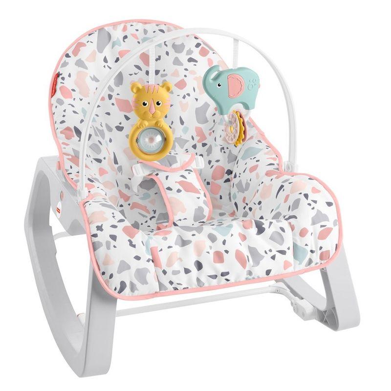 Fisher-Price-Baby---Cadeirinha-Descanso-Relaxante---Rosa---Mattel-0