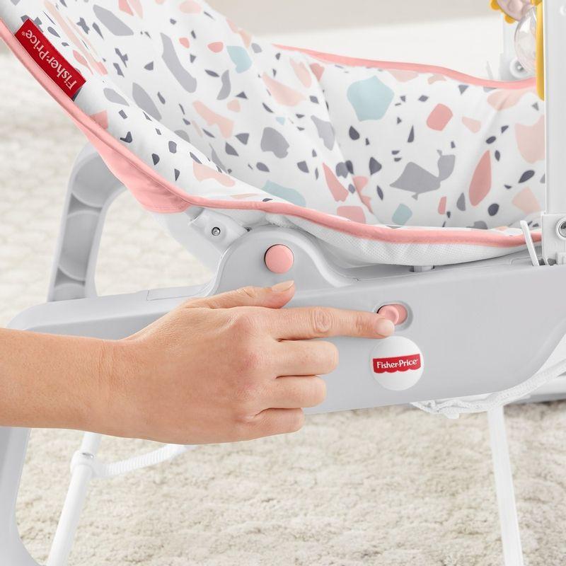 Fisher-Price-Baby---Cadeirinha-Descanso-Relaxante---Rosa---Mattel-4