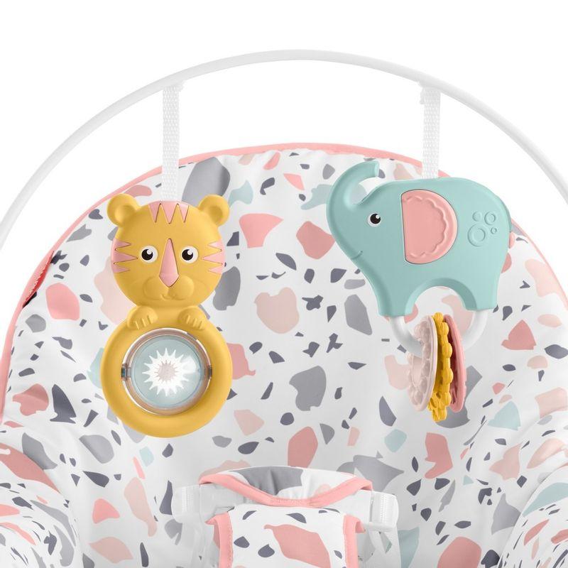 Fisher-Price-Baby---Cadeirinha-Descanso-Relaxante---Rosa---Mattel-5
