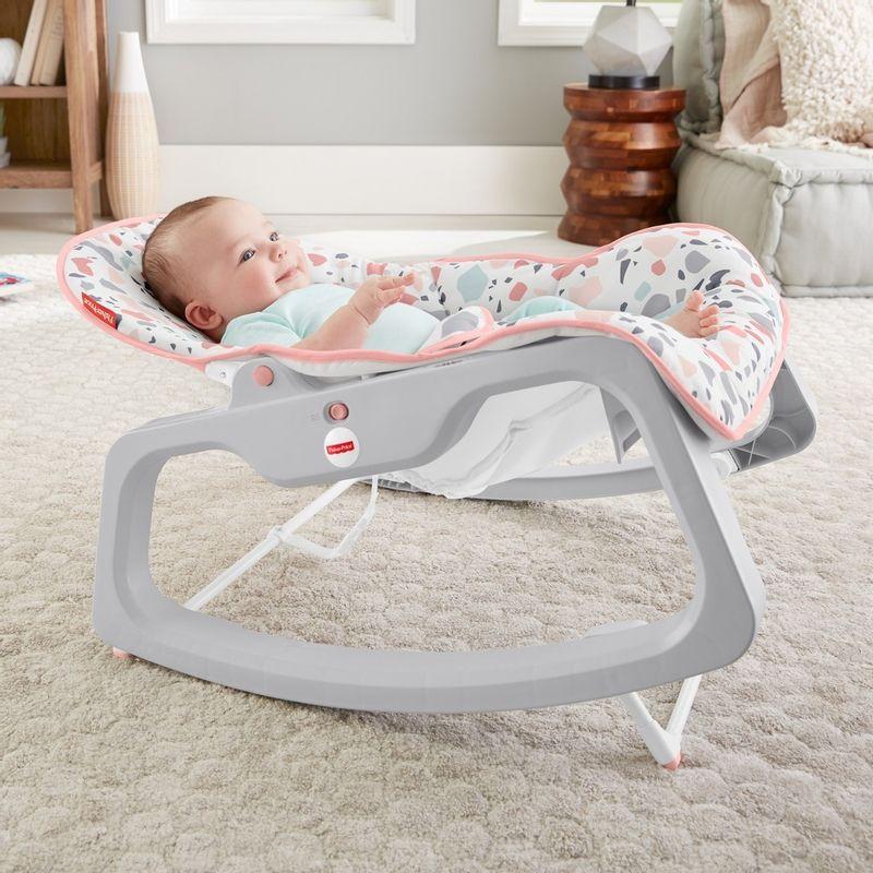 Fisher-Price-Baby---Cadeirinha-Descanso-Relaxante---Rosa---Mattel-6