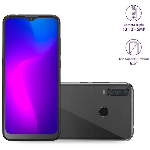 "Celular Smartphone G PRO 2 32GB, 2GB RAM, 4G, Tela 6,5"" Camera Tripla + 8 MP, OCTA Core P9125 Preto"