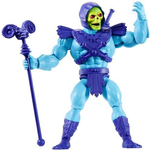 Figura De Ação - 15Cm - Colecionável - Masters Of The Universe - Esqueleto - Mattel