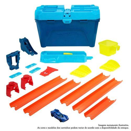 Pista Hot Wheels - Kit Completo Stunt Box - Caixa de Choques Extremos - Mattel