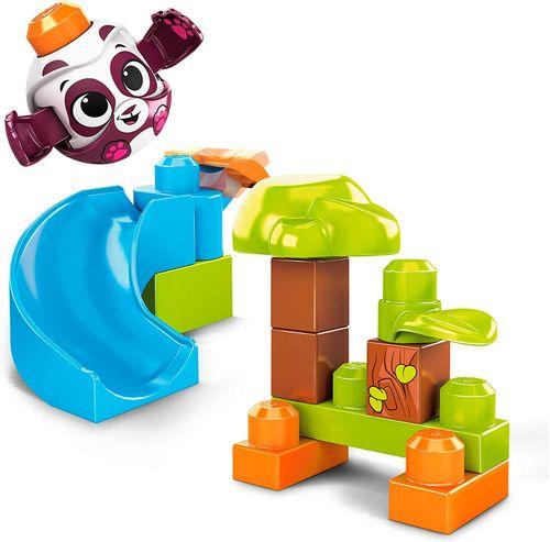Mega Bloks - Blocos de Montar - Escorregador do Panda Gkx68