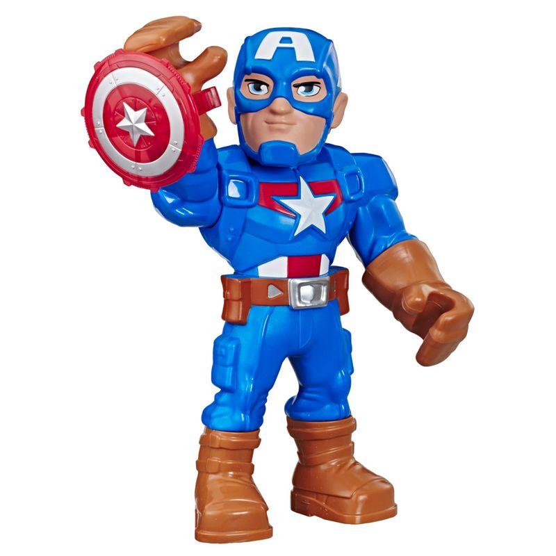 Boneco-Playskool---Marvel---Capitao-America---Hasbro-0