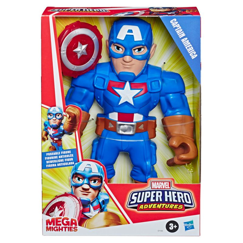 Boneco-Playskool---Marvel---Capitao-America---Hasbro-1