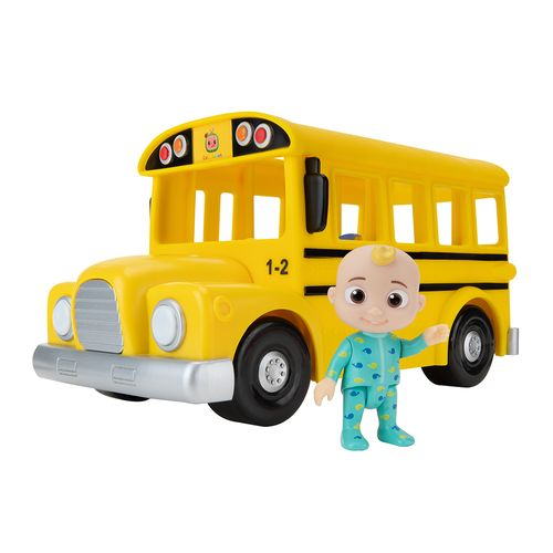Veículo Musical - Yellow School - Bus-Cocomelon - Candide