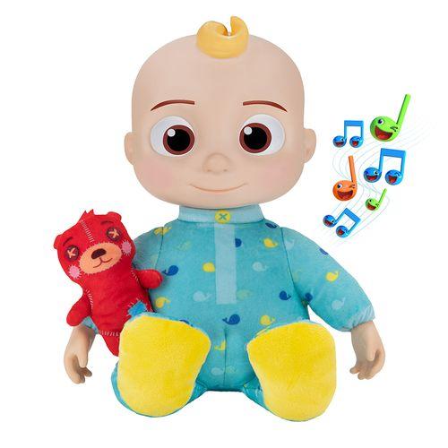 Boneco do JJ - Bedtime - Cocomelon - Toca Música - Candide