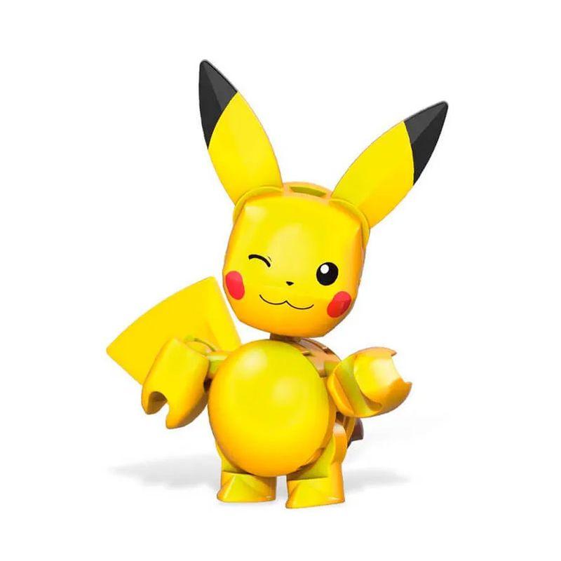 Blocos-de-Montar---Mega-Construx---Pokemon---Pokebola-com-Pikachu-Piscando---Mattel_Detalhe