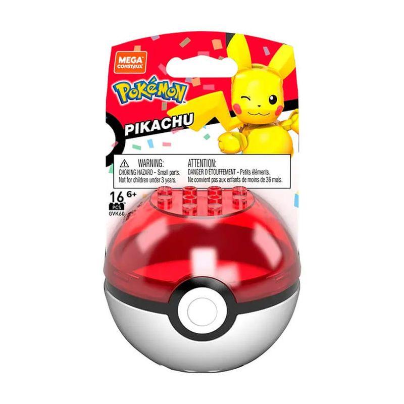Blocos-de-Montar---Mega-Construx---Pokemon---Pokebola-com-Pikachu-Piscando---Mattel_Embalagem