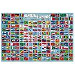 Quebra-Cabeca---200-Pecas---Bandeiras-do-Mundo---Grow-2