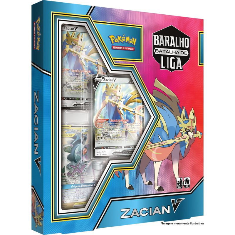 Jogo-de-Cartas---Baralho-Batalha-de-Liga-Zacian---Azul---Pokemon---Copag-0
