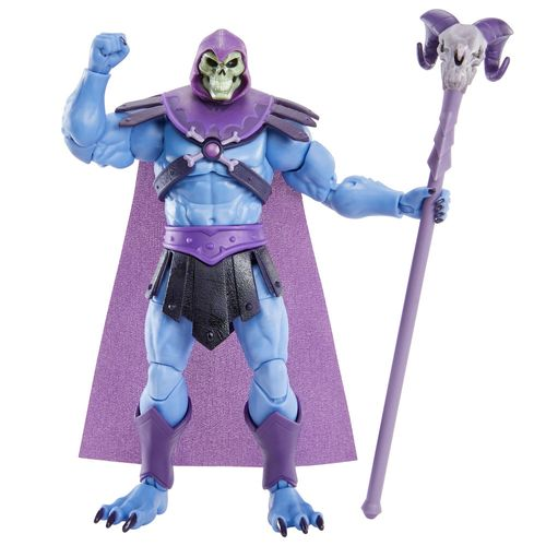 Figura De Ação - 18 cm - Colecionável - Masters Of The Universe - Esqueleto - Mattel