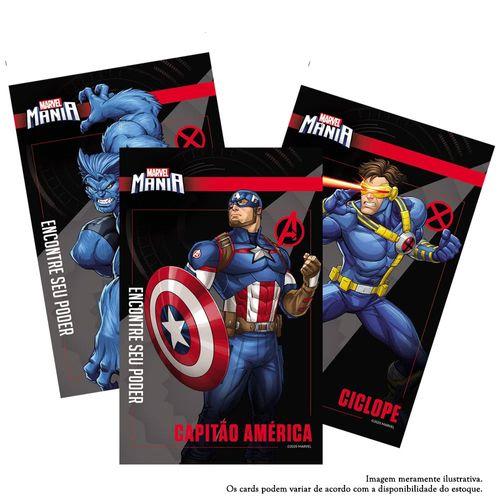 Card Colecionável - Marvel Mania - Sortido - Ri Happy