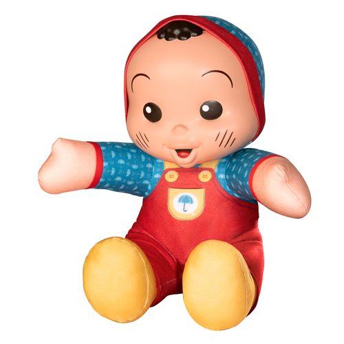 Boneco 22 cm - Turma da Mônica - Cascão Baby - Novabrink