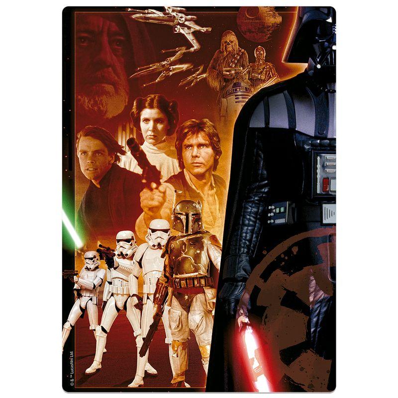 Quebra-Cabeca---500-Pecas-Nano---Game-Office---Star-Wars-Posters---Ep-4-5-e-6---Toyster-2
