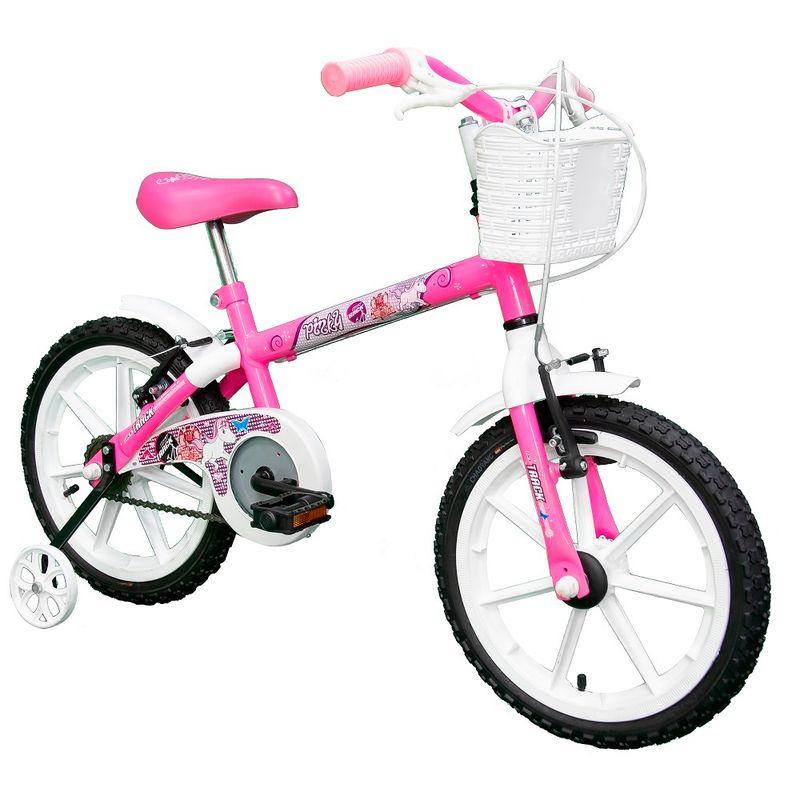 Bicicleta-Aro-16---Branco-e-Pink---TK3-Track-2